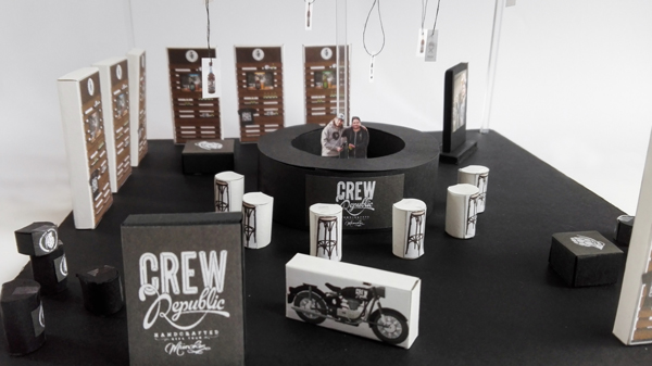 "Messegestaltung ""Crew Republic"""