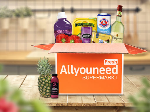 """AllyouneedFresh"", Newslettergestaltung"